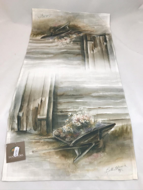 Blomstertid - Løper 35x70