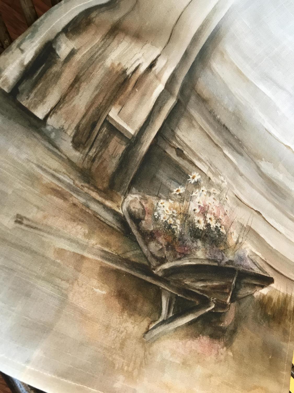 Blomstertid - Løper 40x100cm