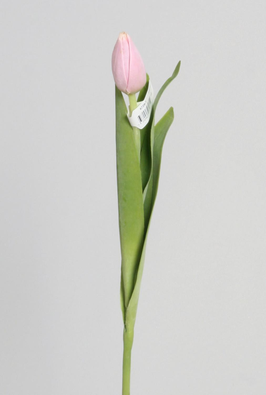 Tulipan lys rosa 40cm