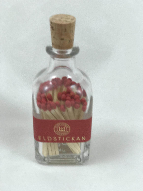 Fyrstikker i flaske, Rød