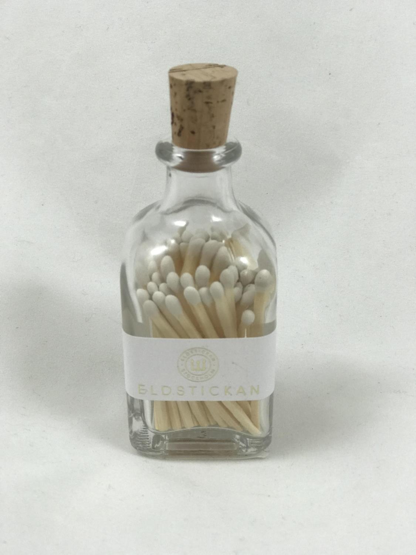 Fyrstikker i flaske, Hvit