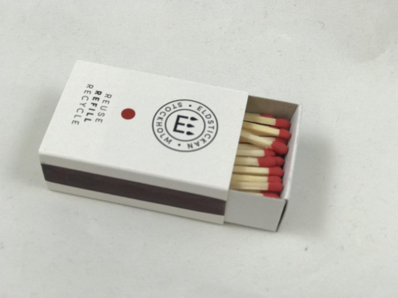 Refill fyrstikker Rød