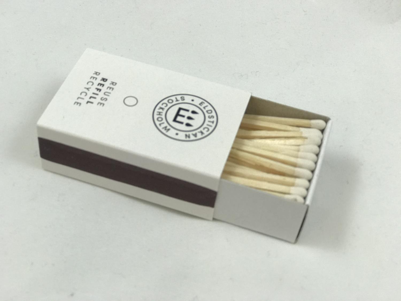 Refill fyrstikker hvit