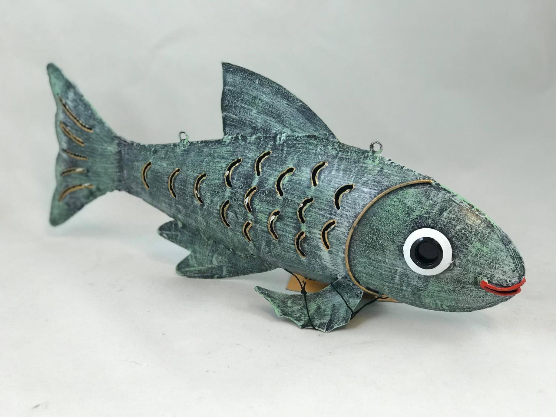 Fisk KARPE Turkis 39x18 cm