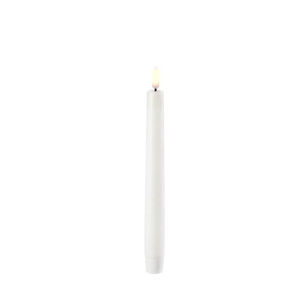 Ledlys kronelys 2,3x15cm Nordic white