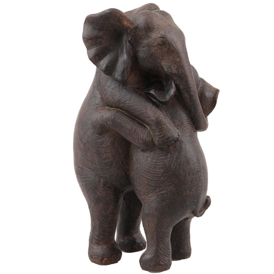 Elefant hugging 25x15cm