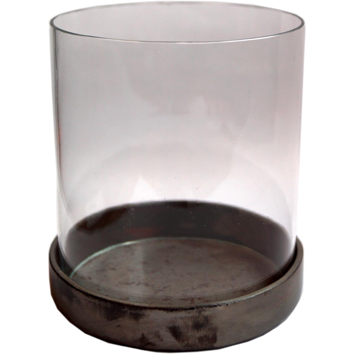 Lysholder, Hurricane Glass og metall