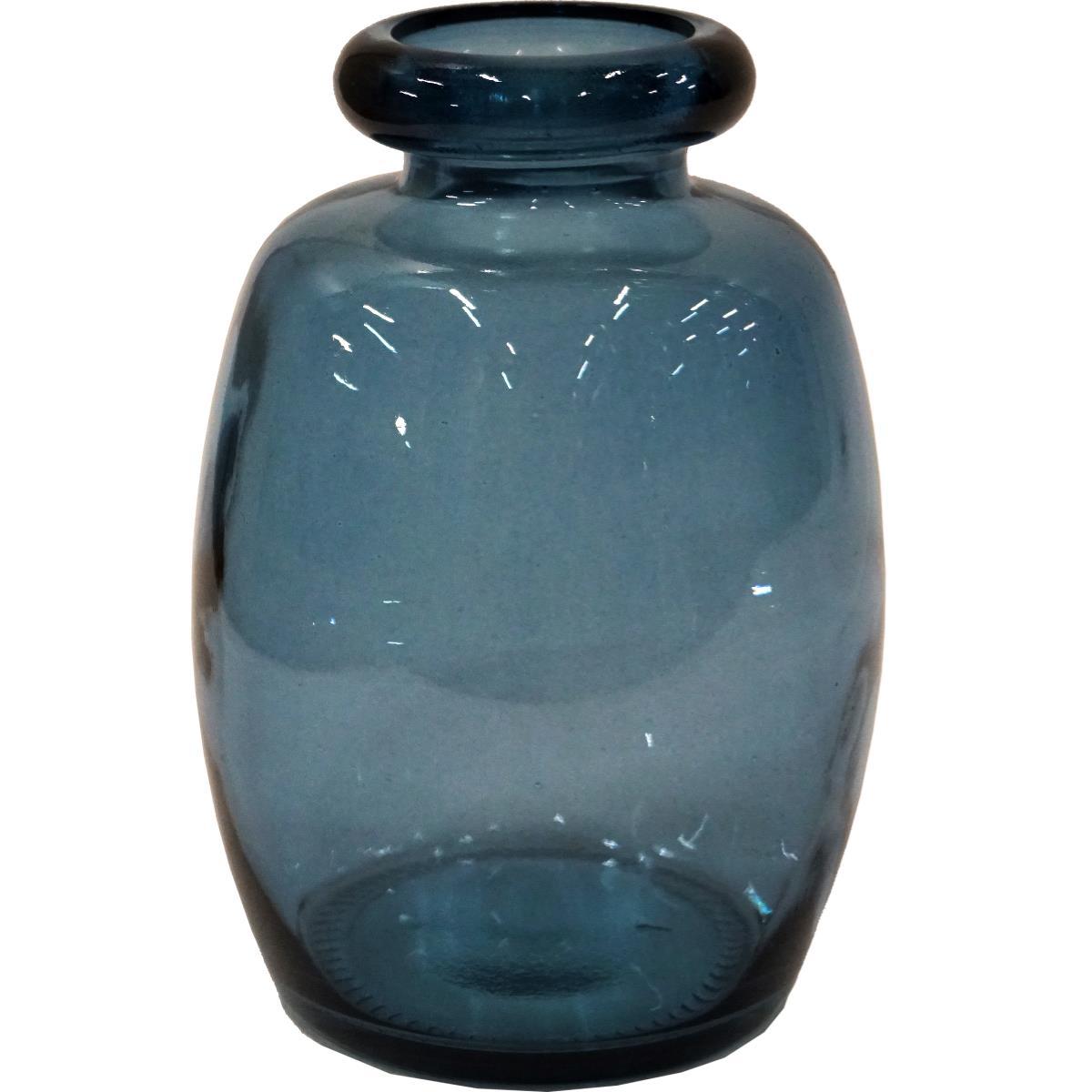 Glassvase Shape blå