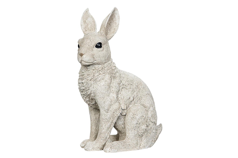 Figur Hare 23x15x35cm grå polystone
