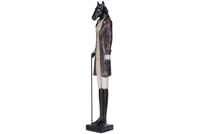 Hest statue, høy 66cm