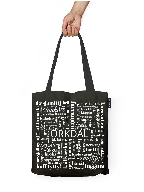 Handlenett, Dialekt Orkdal, SVART