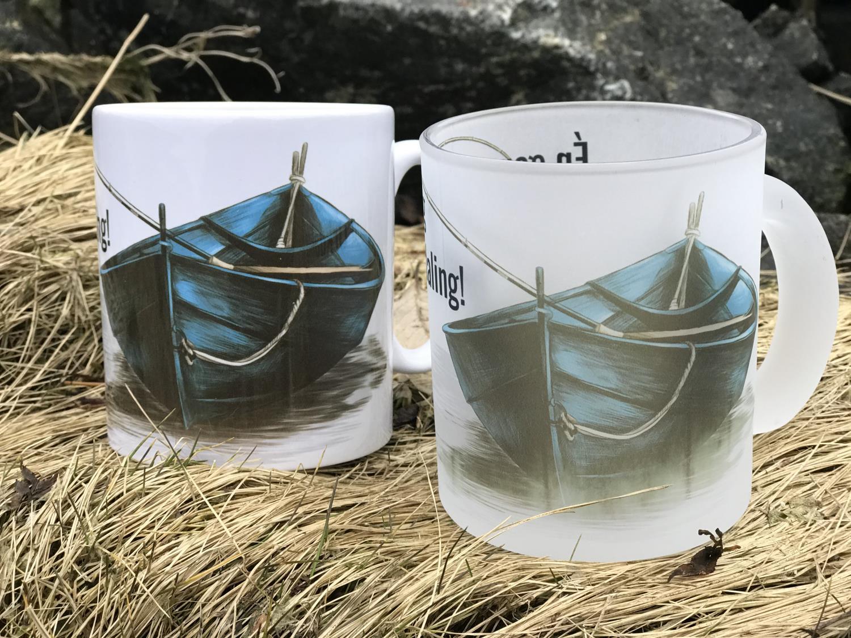 Krus, hvitt m båt, Én gang Orkdaling, alltid Orkda