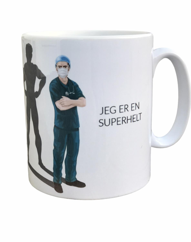 Krus, Jeg er en SUPERHELT, Mann