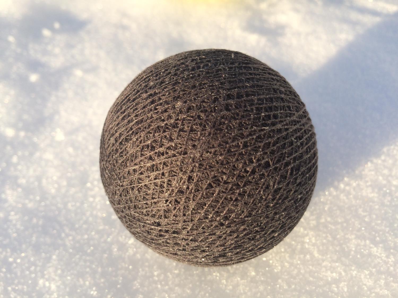 Cottonballs ANTRACITE Ø7cm