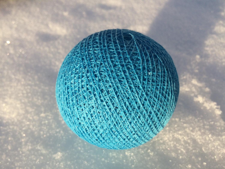 Cottonballs CLEAR BLUE Ø7cm