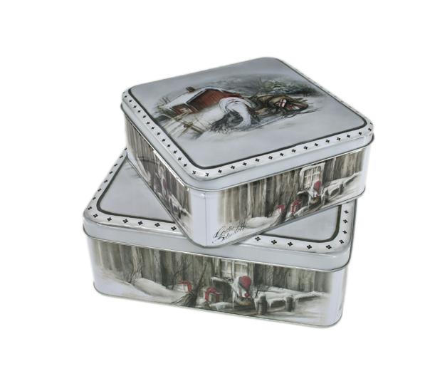 Gammelnissen - Kakebokser sett 2 stk