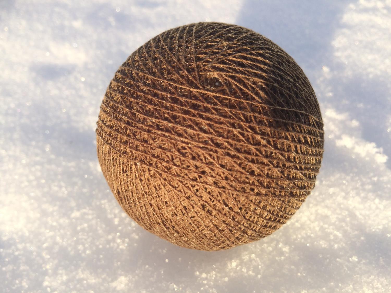 Cottonballs BRUN Ø7cm