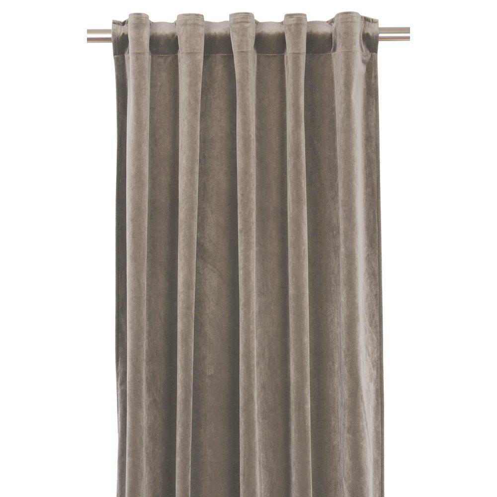 Gardinlengde i fløyel 022 - Nougat (Bestillingsvar