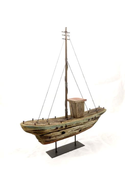 Båt drivved 39x8x44