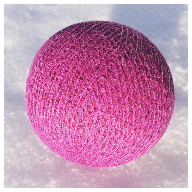 Cottonballs CYCLAAM (bringebær)